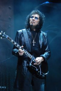 Tony Iommi performs at Chicago's Charter One Pavilion on June 11, 2009. Photo by Adam Bielawki